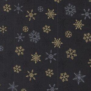 Makeower Christmas Ombre Snowflake grijs sterretjes