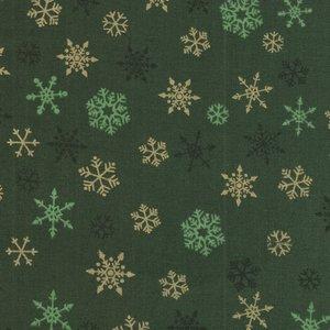 Makeower Christmas Ombre Snowflake groen sterretjes