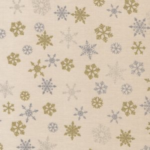 Makeower Christmas Ombre Snowflake ecru sterretjes