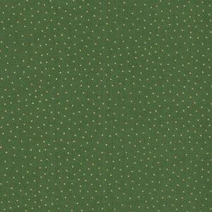 Makeower Christmas Yuletide groen goud stipje