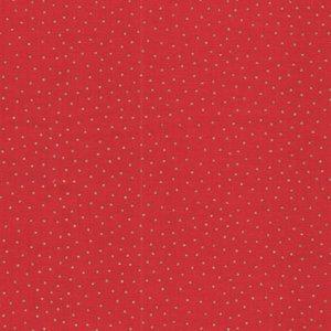 Makeower Christmas Yuletide rood goud stipje