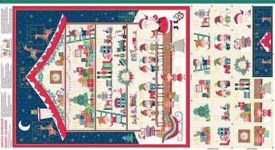 Makeower Christmas Santa's Workshop Adventkalender paneel
