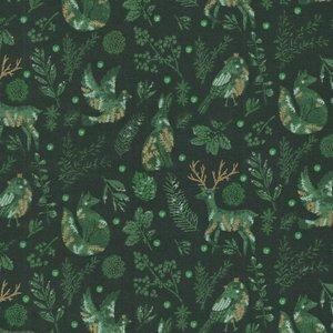 RJR Winter Dreams groen diertjes
