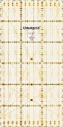 Omnigrid universele liniaal 15 x 30 cm