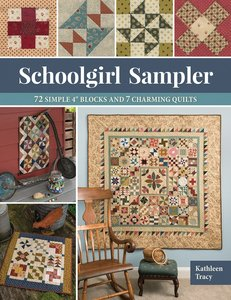 Boek: Schoolgirl Sampler, Kathleen Tracy