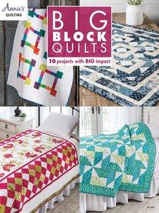 Boek: Big Block Quilts, Annie's quilting