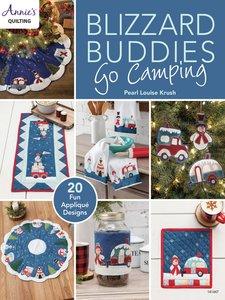 Boek: Blizzard Buddies Go Camping, Annie's quilting