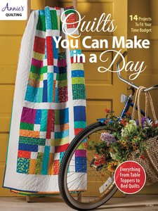 Boek: Quilts You Can Make in A Day, Annie's quilting