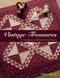 Boek: Vintage Treasures, Pam Buda
