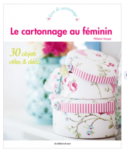 Boek: Le cartonnage au féminin, Hitomi Inoue