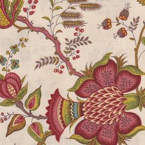 Dutch Heritage Arabesque ecru bloem