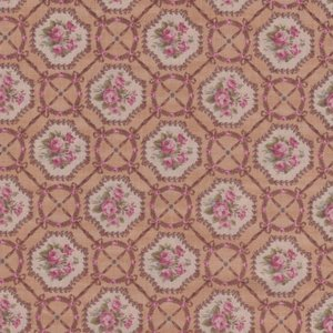 Lecien Antique Rose tan mini roze roos