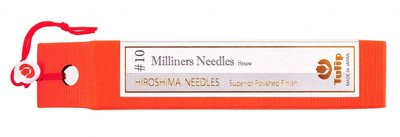 Tulip Milliners Needles (Applicatie/modisten naalden) maat 10 big eye