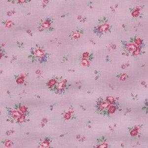 Quilt Gate RURU Bouquet lila roze roos klein