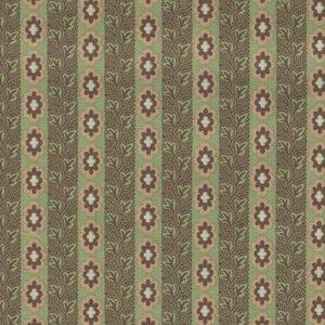 Penny Rose Fabrics Callington Mill groen streepje
