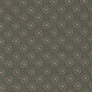 Penny Rose Fabrics Callington Mill groen ecru werkje