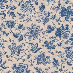 Dutch Heritage Gujarat ecru blauw