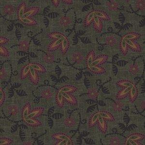 Marcus Fabrics Pieceful Pines groen blaadje