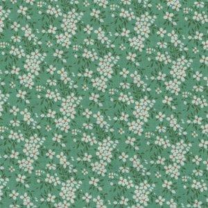 Tilda Apple Butter groen wit bloemetje