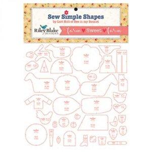 Sew Simple Shapes Farm sweet farm by Lori Holt